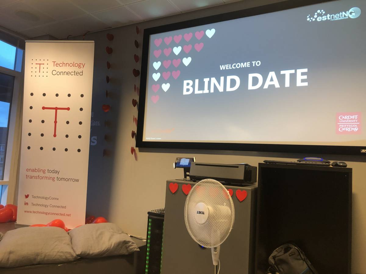 K Sharp takes part in Blind Date Image