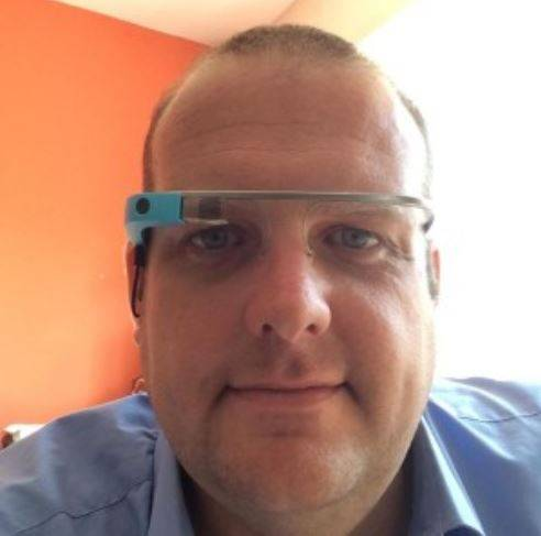 K Sharp and Google Glass Image
